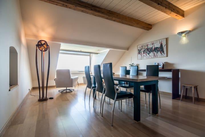 Maison Lamartine sur le lac Léman - Nernier - Apartamento
