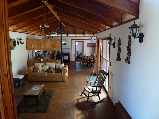 Casa en Olmué con vista al cerro La Campana