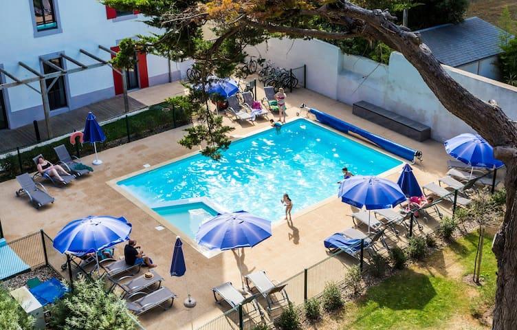 Appartement au pied de la plage | Wi-Fi gratuit + accès piscine