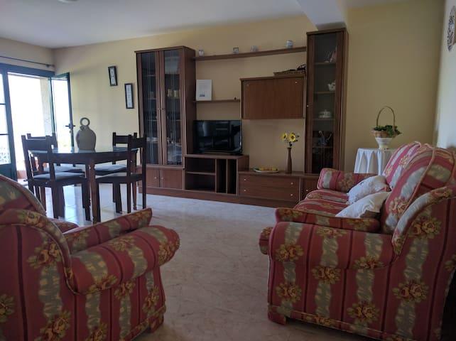 Apartamento amplio y acogedor en Bascuas Sanxenxo - Sanxenxo - Flat