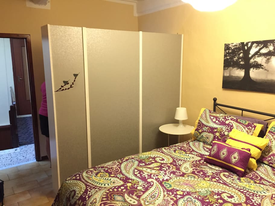 Lots of wardrobe space and a comfy European queen size bed.
