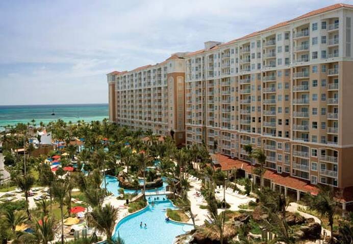 Marriott 39 s aruba surf club 1 wk villas for rent in - Marriott aruba surf club 2 bedroom villa ...