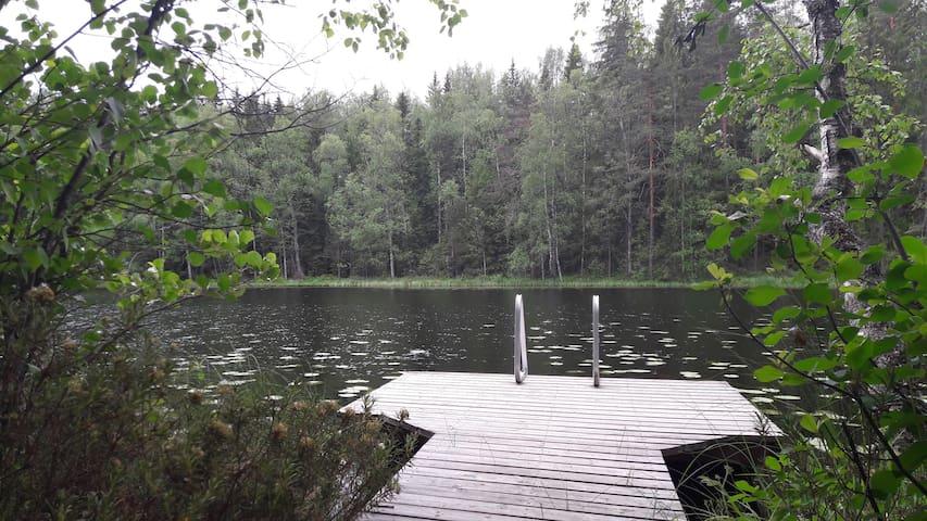 Haukanlinna - Mökki ja rantasauna Haukkalammella