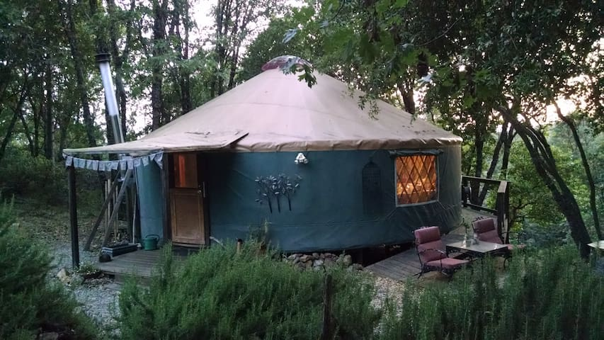 The Yuba Yurt at RiverSea East