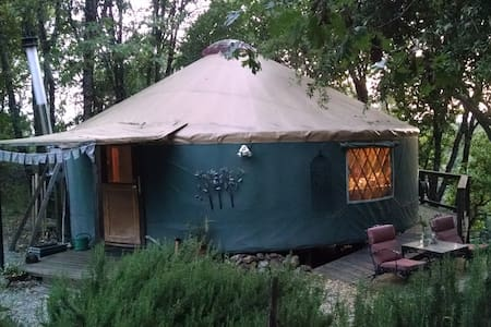 The Yuba Yurt at RiverSea East