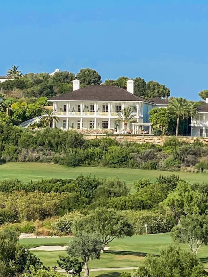 Finca Cortesin - Golfside Villa colonial style