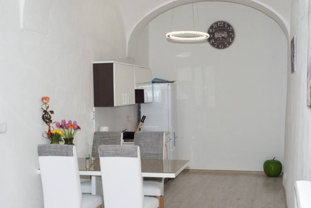 Dinning and Kitchen Area