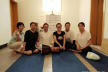 一起可以练习瑜伽