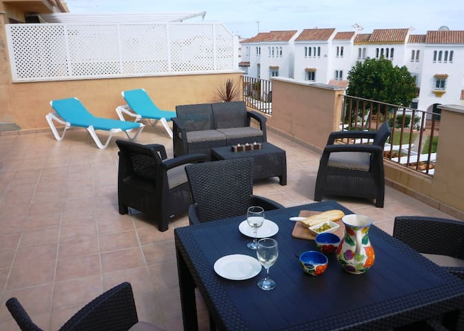 Penthouse Apt on the Beach in Costa del Sol - Marina de Casares - Apartment
