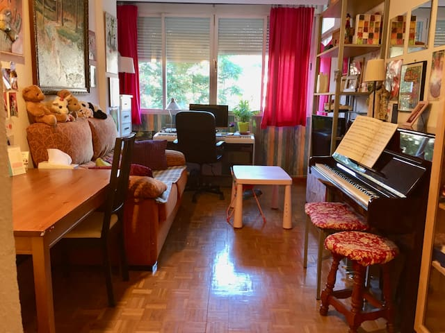 Apartment in Madrid for the whole August.