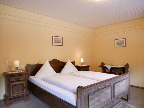 Seebach-Hotel, (Seebach), Doppelzimmer, 22qm, max. 2 Person