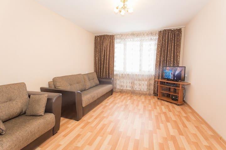 Уютная квартира на Волжской Набережной 25 - Nizhnij Novgorod