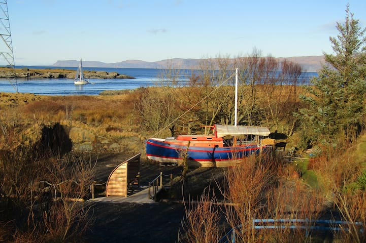 The Alexandra Lifeboat - Cuan Ferry - Boat