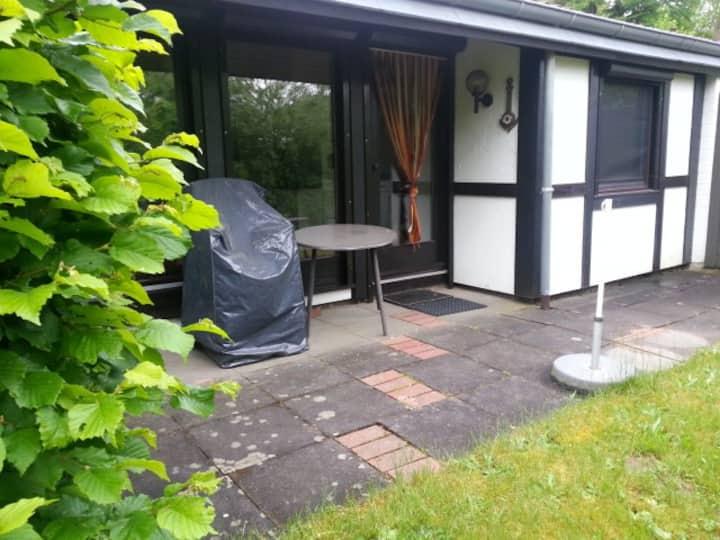 Ruhiger Arbeitsplatz und Ferienhaus Waldblick1