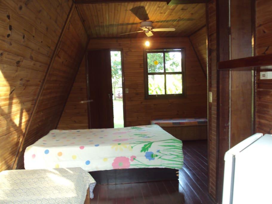 interior do chalé 2