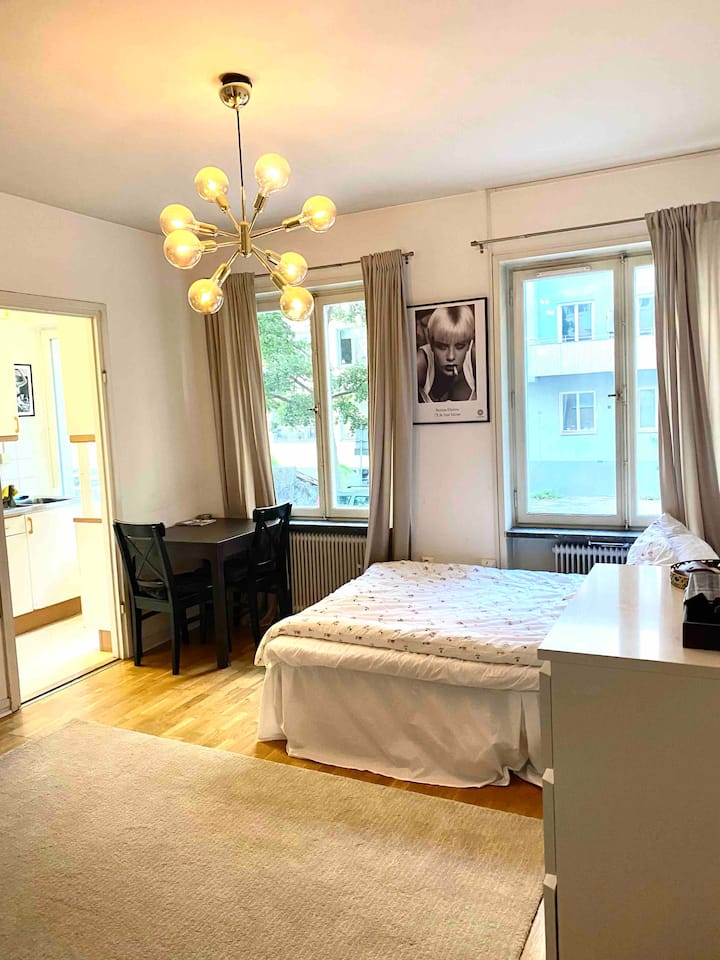 Full apartment 7 min too Stockholm city central!