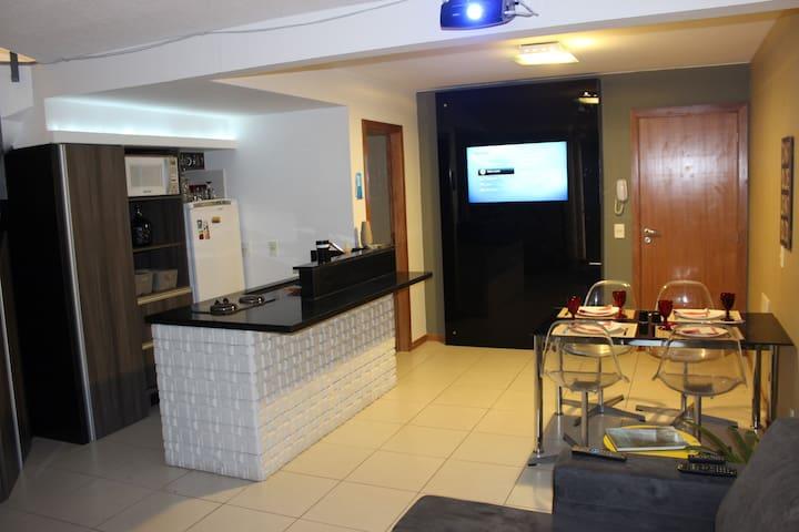 Duplex com 60m2 completo e Bem Localizado! - Lago Norte - Apartment