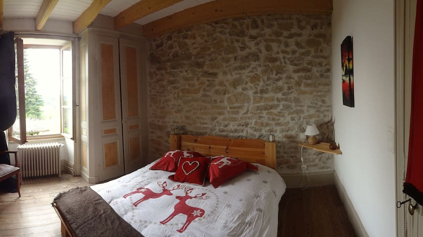 PAISIBLE FERME BUGISTE - Saint-Rambert-en-Bugey - House