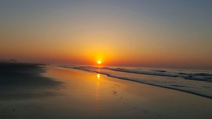 Heaven on the beach, in Wildwood Crest, NJ