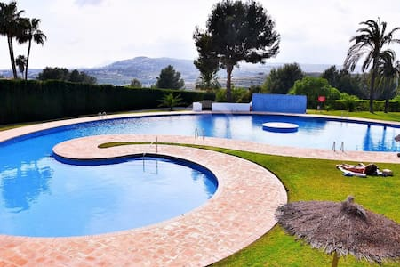 TURQUETA BEACH HOUSE MORAIRA FOR 6!