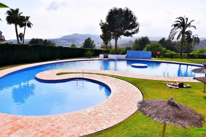 Happy summer/winter Moraira for 6! with chimney