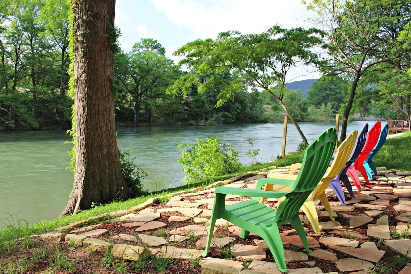 JACKS RIVER HAUS - a SkyRun Texas Property - Guadalupe Riverfront Home