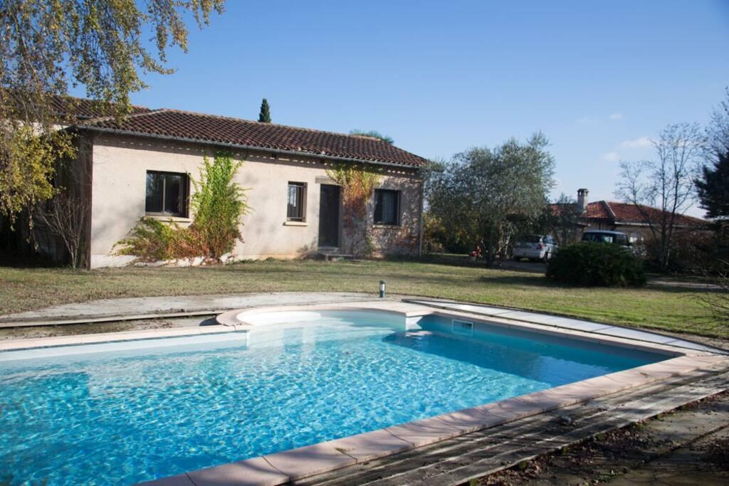 La piscine plus ou moins chaude au fil des saisons!