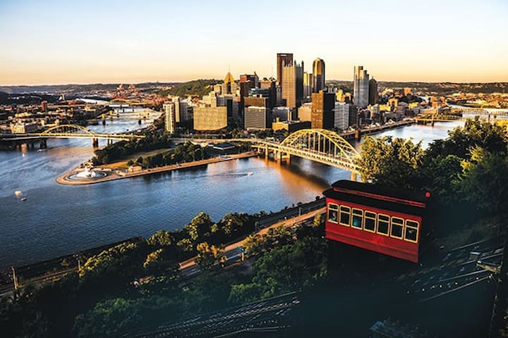 2.8 to Mt. Washington!  Gorgeous view, fine dining and ride the historic incline.