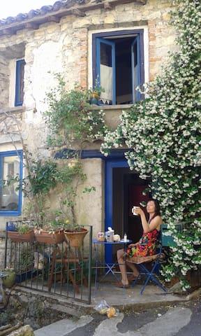 Maisonnette typique, coeur village médiéval Sauve
