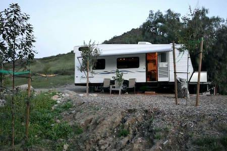 Trails Retreat on 42 acres - santee  - Karavan