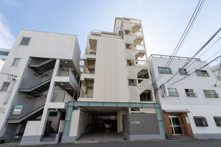 Newly open・Cozy apt near Osaka Aquarium, USJ 3-A