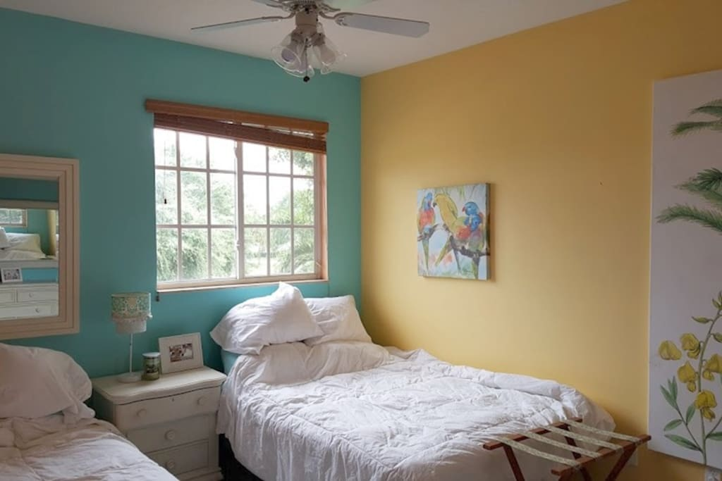 """""""Key West"""" Room with 2 Full Sized Beds"""