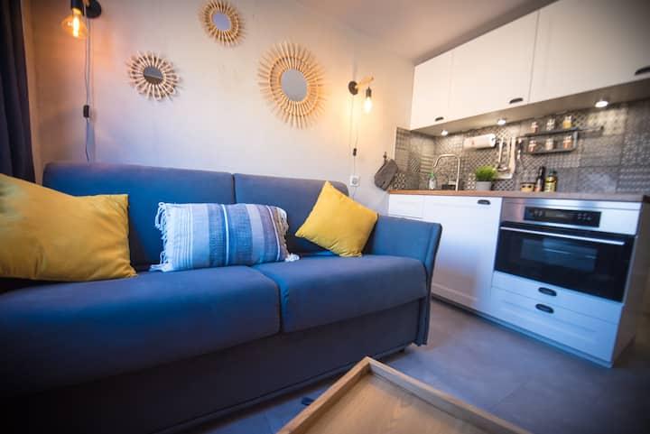 Superbe appartement-Le palafour-Tignes le lac-Neuf