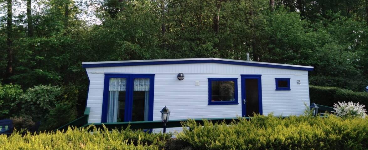 Gezellig vrijstaand huisje aan bosrand bij Veluwe!