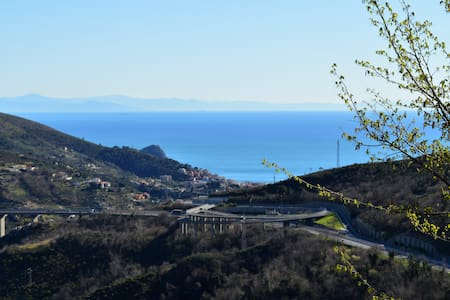 Relax and you see the sea - B&B Edel - Noli - Penzion (B&B)