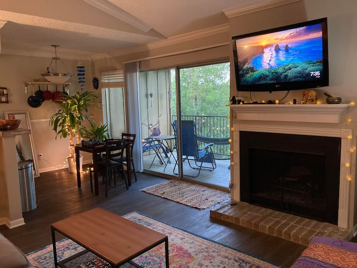 1 bed 1 bath apartment-1 mile from Zilker Park!