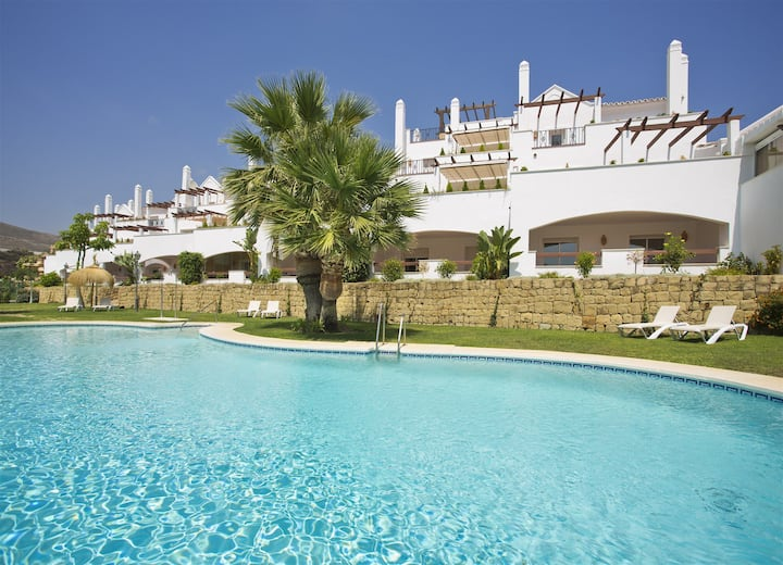 Beautiful apartment in Marbella golf valley