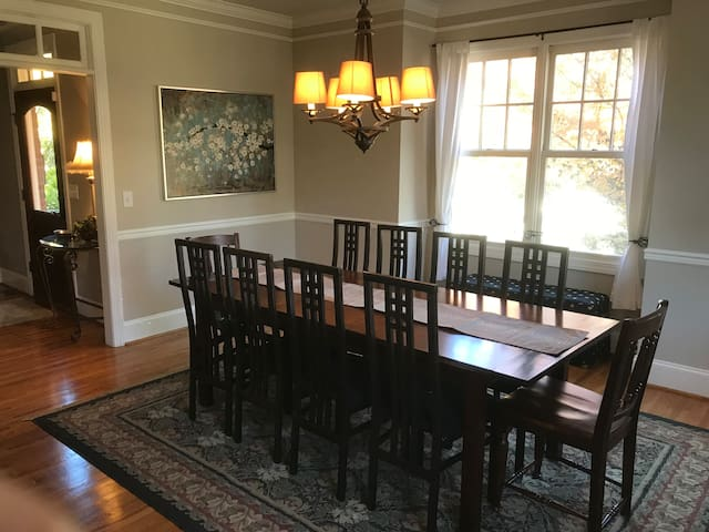 Upscale House 1 Mile from Downtown Sleeps 10