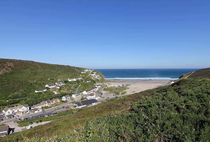 Beachview House - Porthtowan - Casa
