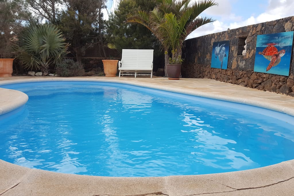 Private swimming pool / piscina uso excluisivo clientes