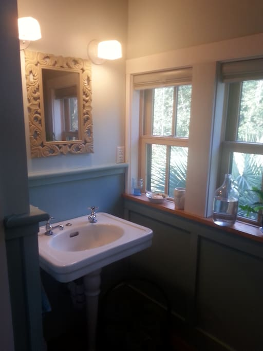 your own private beautiful bathroom