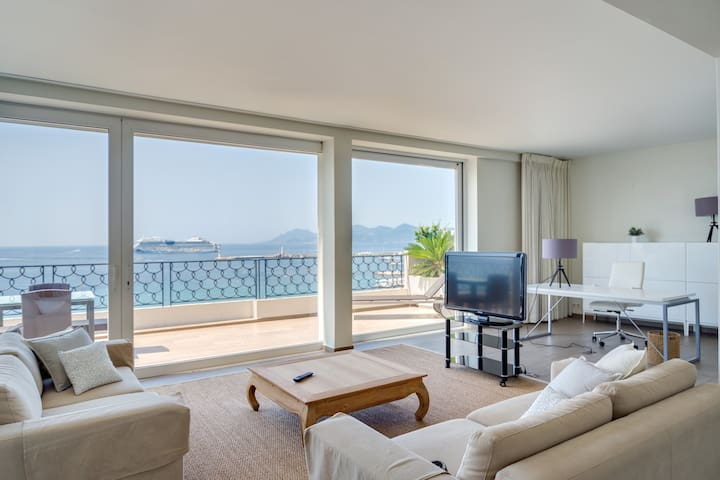 Cannes CROISETTE Penthouse - Cannes - Apartment
