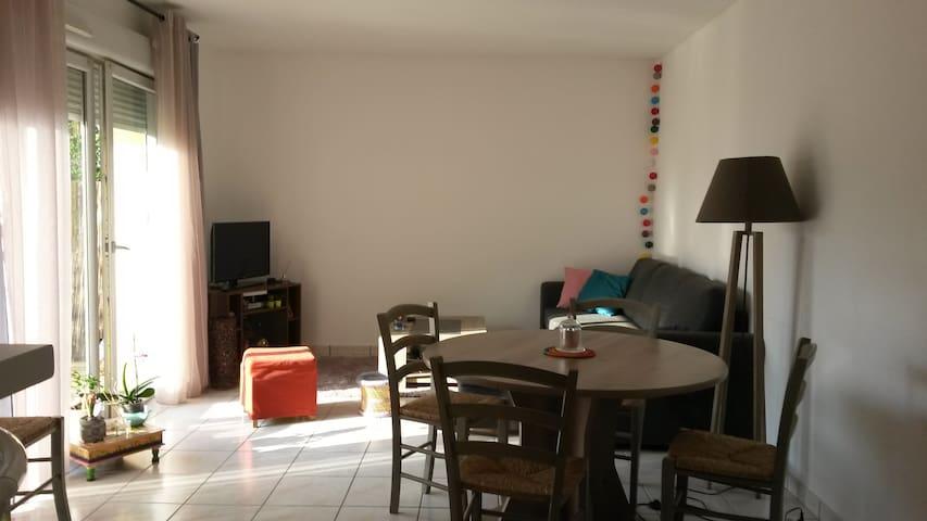 Appartement confortable et lumineux - Tours - Apartament