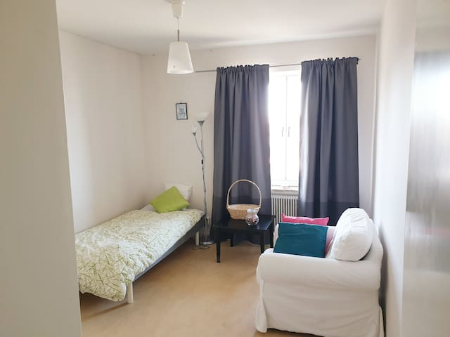 Lovely apartment in nice Nacka, 15 min from town