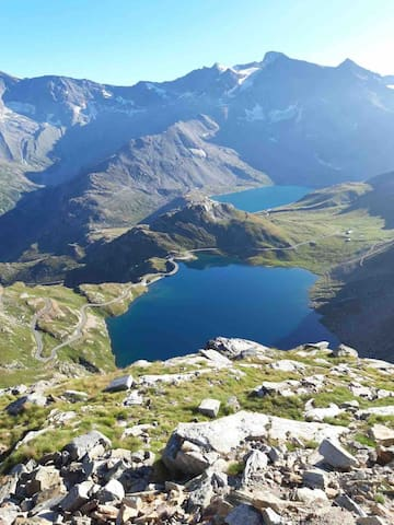Colle del Nivolet                                        Parco Nazionale del Gran Paradiso   m 2612