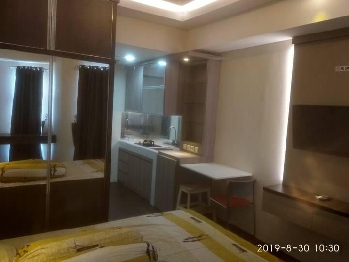 Cozy studio Apartment in Akasa Pure Living