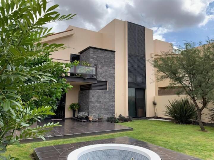 La casa de los bambús, ideal para descansar.
