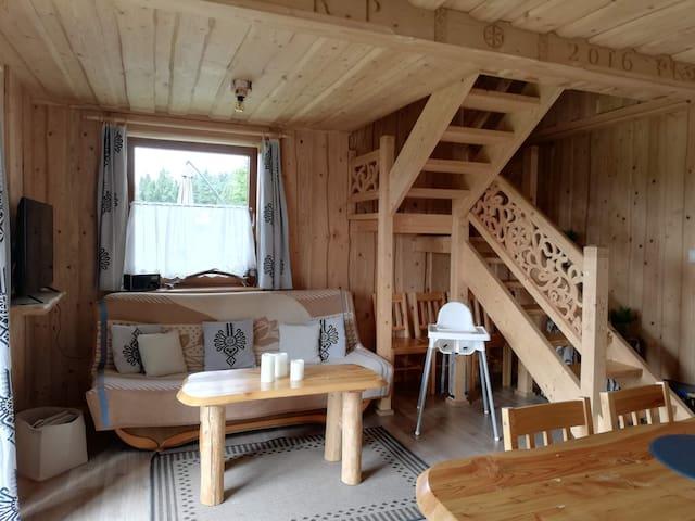 Domek na Przełęczy-wyjątkowe miejsce na odpoczynek