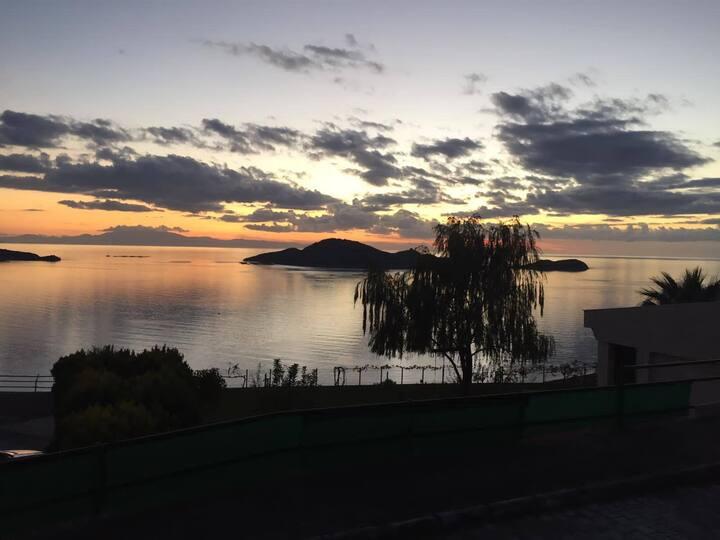 Muhteşem Deniz ve Manzara bu villada birarada..