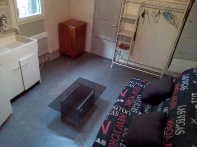 Studio meublé équipé quartier historique Montluçon
